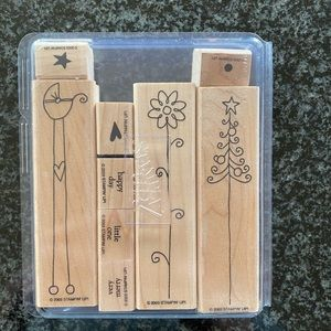 Stampin Up Nice and Narrow Stamp Set